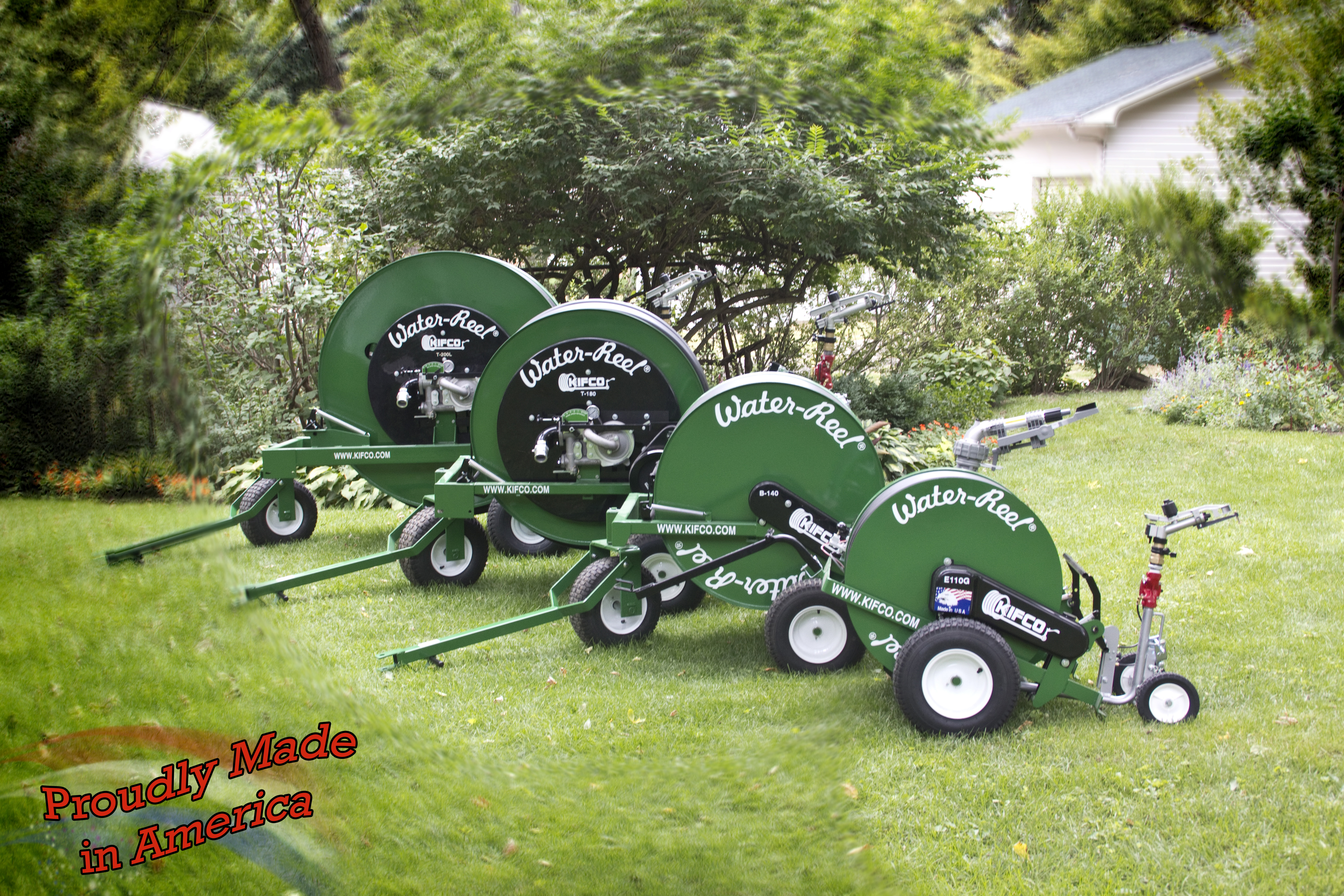 traveling irrigation and portable irrigation by Water-Reels