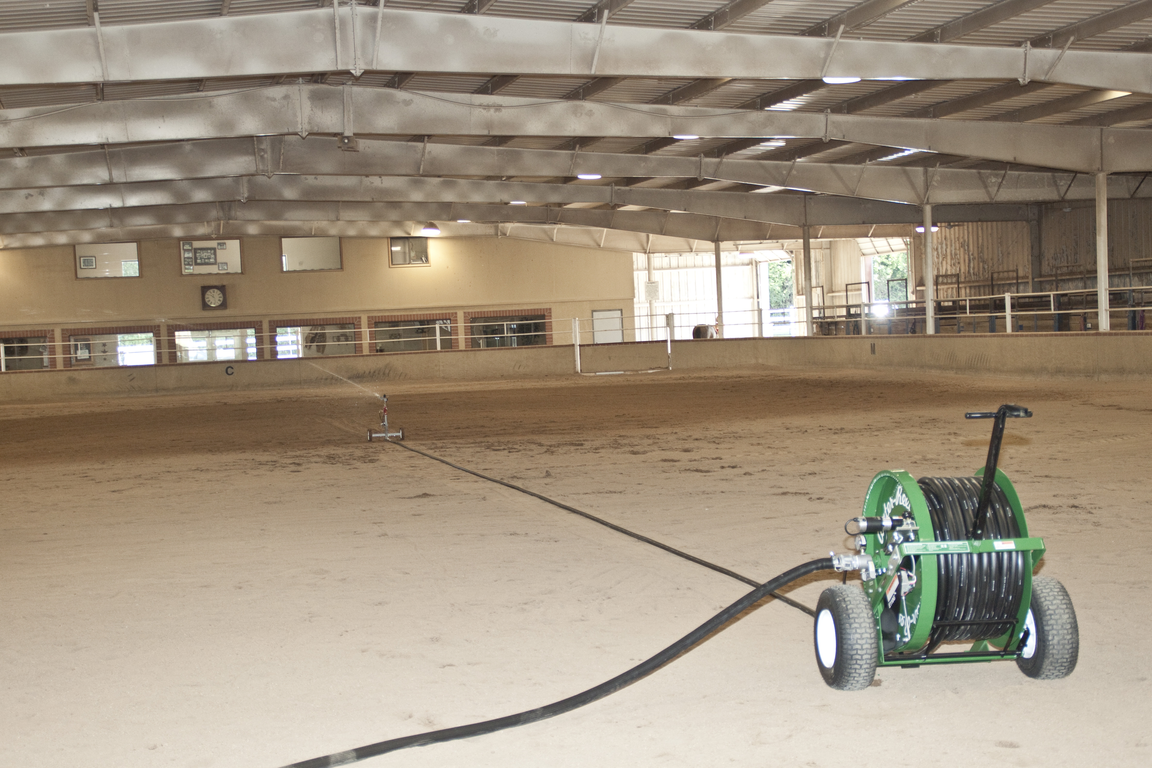 E110 indoor arena 7