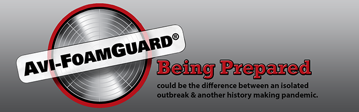 avi-foamguard, a product which helps depopulating poultry houses infected with avian influenza