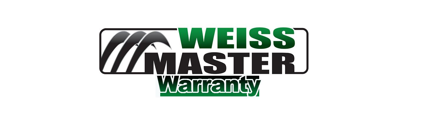 weiss master warranty