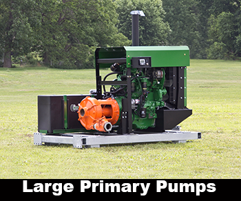 large primary pumps