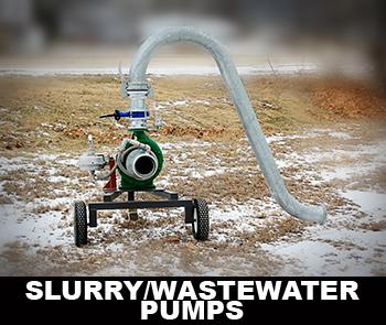slurry pumps aka wastewater pumps