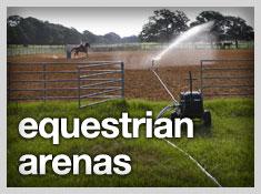 watering equestrian arenas