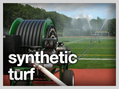 synthetic turf watering